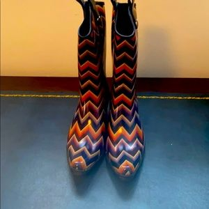 Blazin Roxx Cowboy Rain Boots